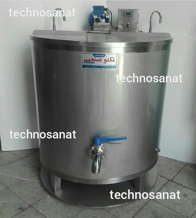 پاتیل پخت شیر در ابعاد مختلف تکنوصنعت