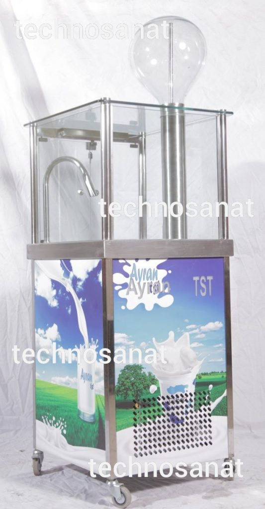 دوغ ساز دوغساز در طرحهای مختلف تکنوصنعتAyran tst