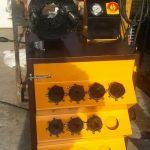 تولید دستگاه پرس شیلنگ هیدرولیک فشار قوی 1/4 تا 3 اینچ (ایستاده)