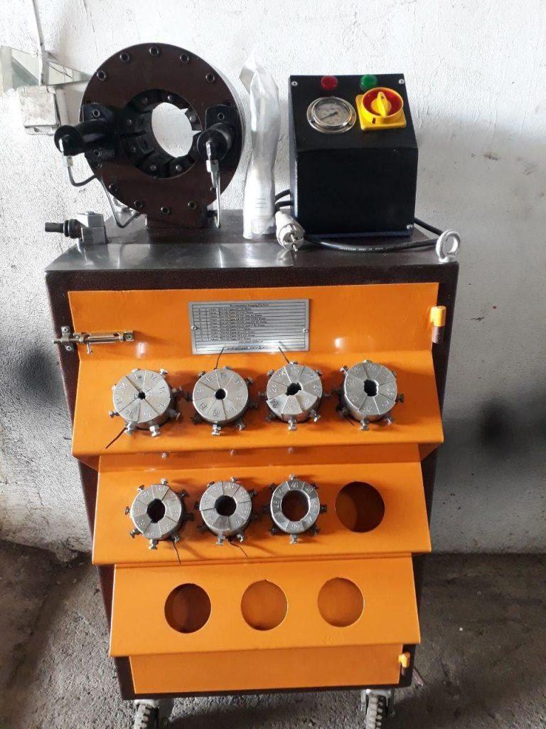 تولید و فروش دستگاه پرس شیلنگ هیدرولیک فشار قوی 1/4 تا 2 اینچ (ایستاده)