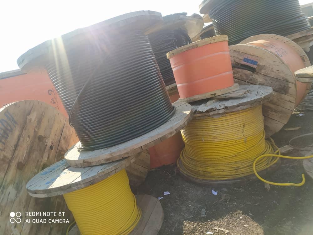 فروش انواع کابل خشک زمینی NYY