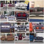 مبلمان راحتی هفت نفره استیل مدل مانتو جدید