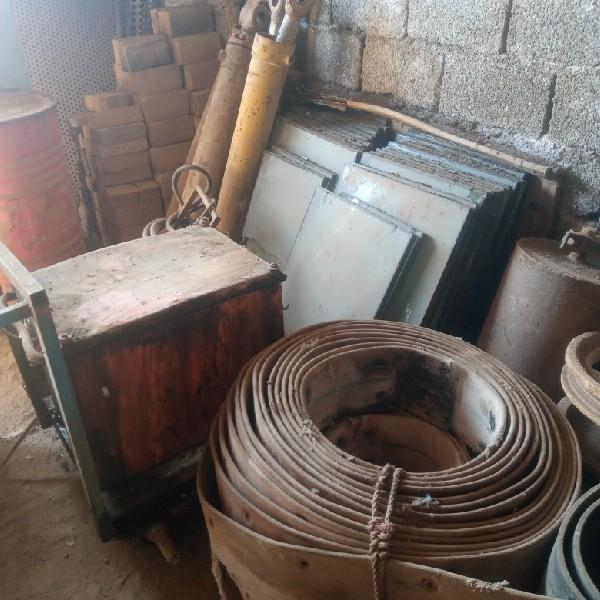 مزایده و فروش فوری کلیه تجهیزات صنعتی کارخانه