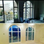 پنجره دوجداره upvc و شیشه دوجداره و انواع توری