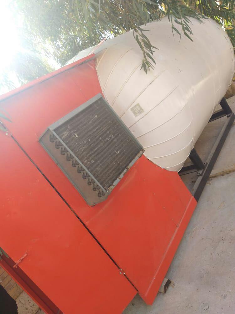 دستگاه مخزن گاز co2